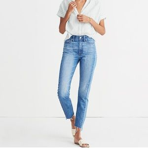 madewell | the perfect summer jean: pieced edition